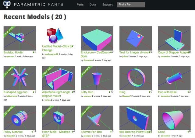 Parametric-Parts-Screenshot