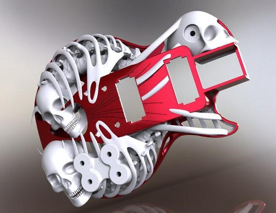 Customuse-3d-printed-guitar-5
