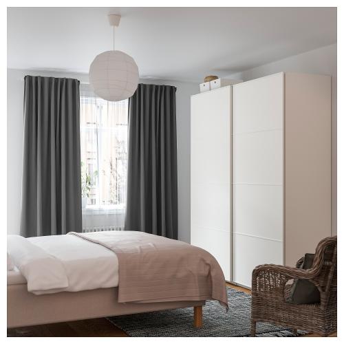ikea vidga corner room divider white
