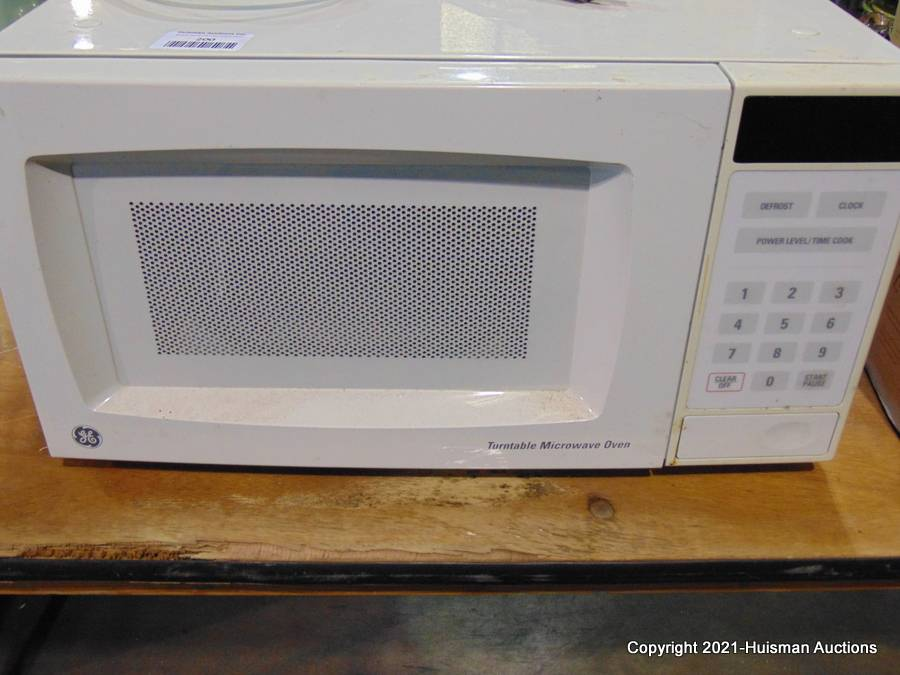 general electric turntable microwave oven works
