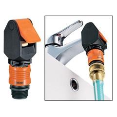 indoor faucet connector