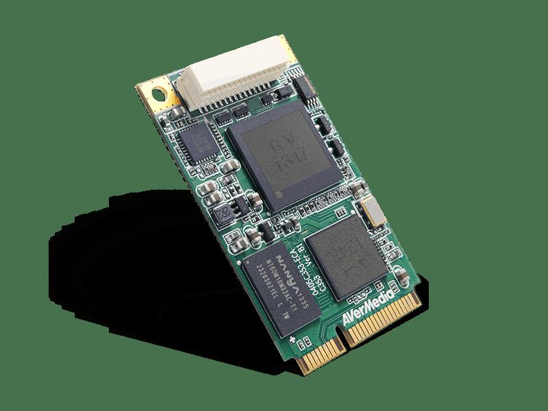 DarkCrystal HD Capture Mini-PCIe C353│AVerMedia