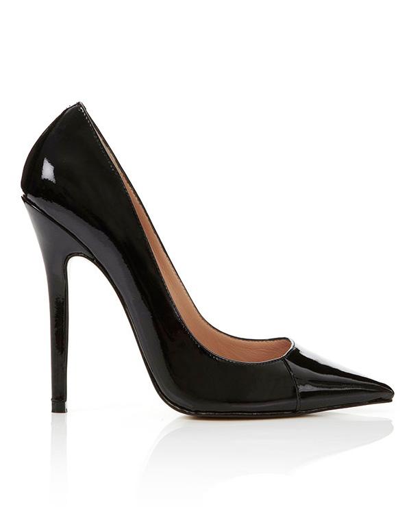 Resultado de imagen de black pointed toes heels