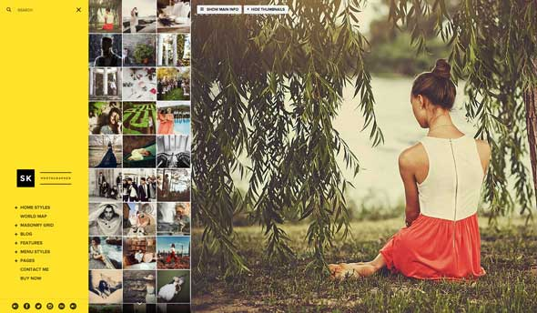 Moon - Photography Portfolio Theme for WordPress - 4