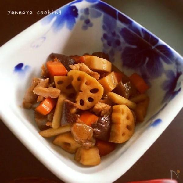 作り続けたい味…根菜たっぷり炒り鶏