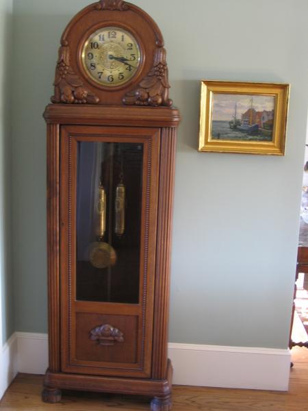 Gustav Becker Grandfather Clock Antique Appraisal
