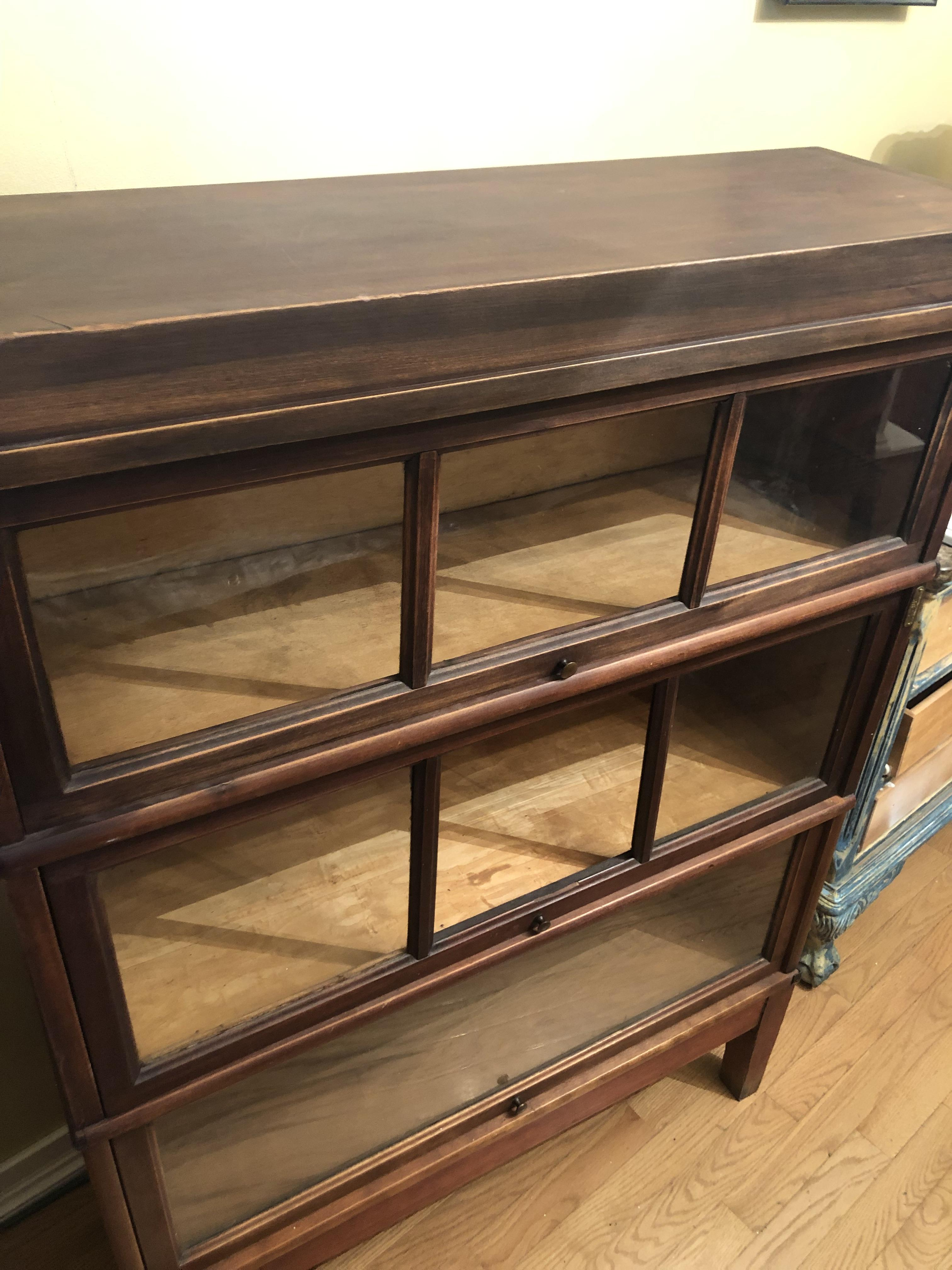 Macey Globe Wernicke Barrister Bookcase Antique Appraisal