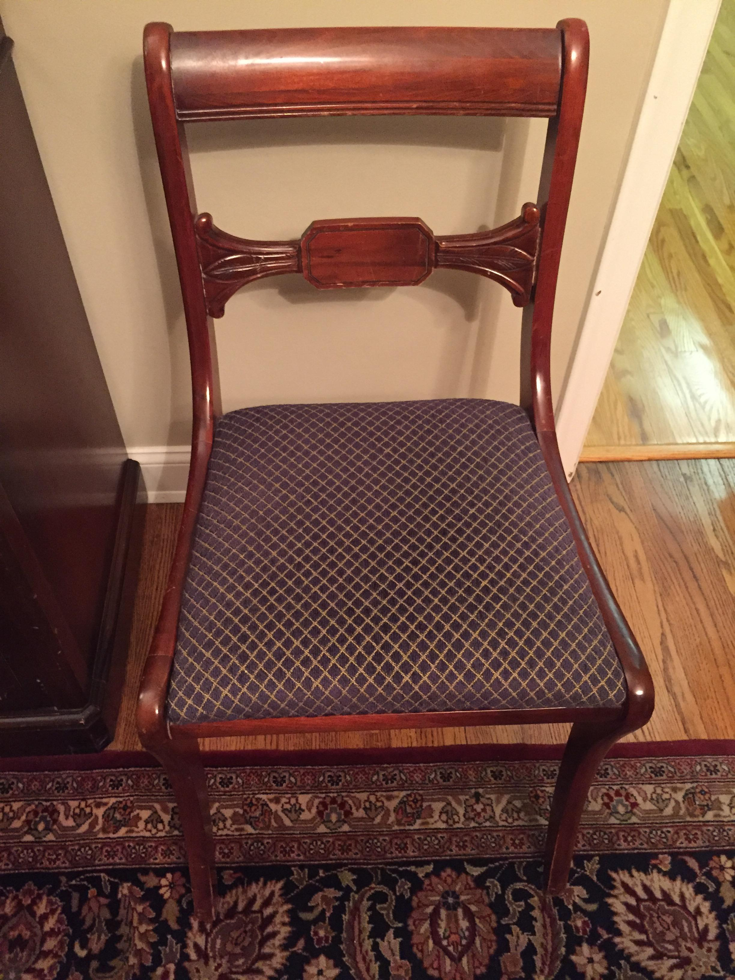 Vintage Drexel Heritage Mahogany Dining Room Table And Chairs Travis Court Collection Antique