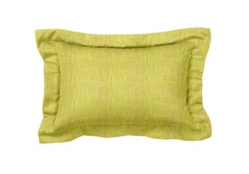 custom designer lumbar pillow with flange