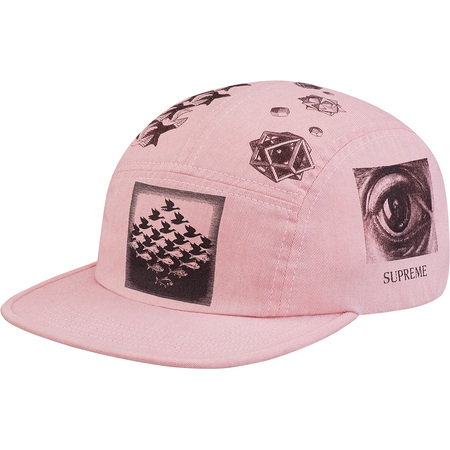 M.C. Escher Camp Cap (Dusty Pink)