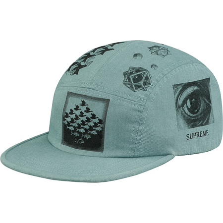M.C. Escher Camp Cap (Dusty Slate)