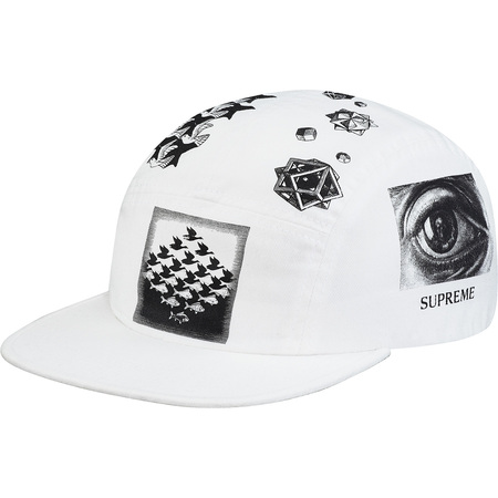 M.C. Escher Camp Cap (White)