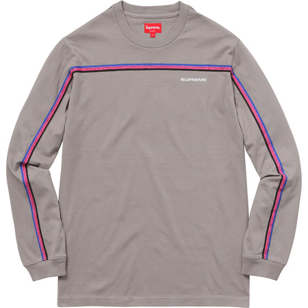 Full Stripe L/S Tee (Grey)