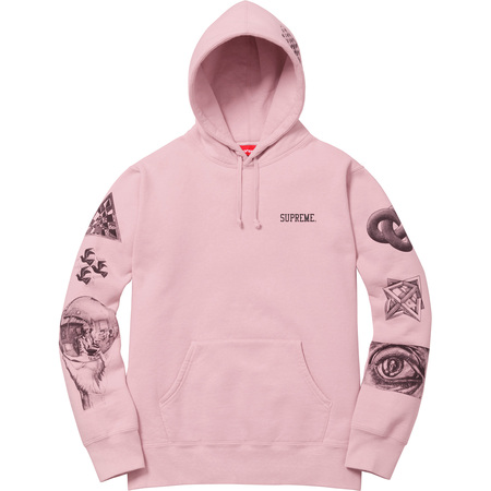 M.C. Escher Hooded Sweatshirt (Dusty Pink)