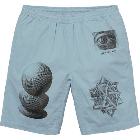 M.C. Escher Short (Dusty Slate)
