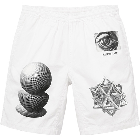 M.C. Escher Short (White)