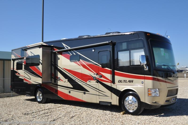 2015 Thor Motor Coach RV Outlaw 37MD Patio, 26K Chassis, 2