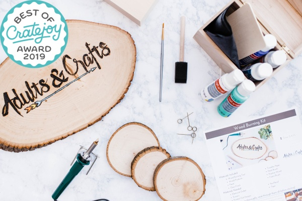 adults and crafts crate subscription box