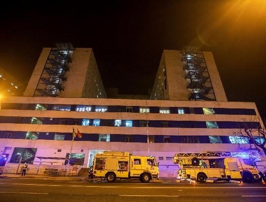 Decretado el ingreso en prisión del presunto autor del incendio en el Puerta del Mar