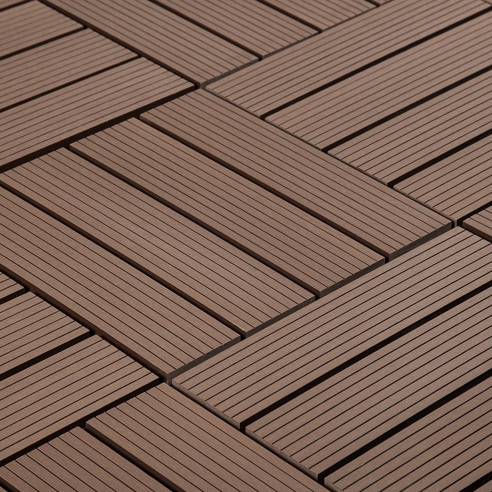 jf outdoor composite interlocking deck tiles