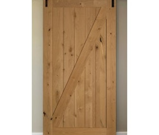 American Door Company  Knotty Alder  Panel Z Bar