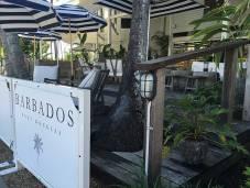 Barbados Port Douglas Sign