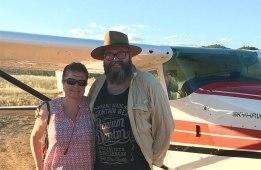 After Wilpena Pound scenic flight