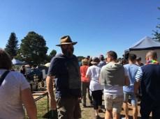Daylesford Sunday Market crowds
