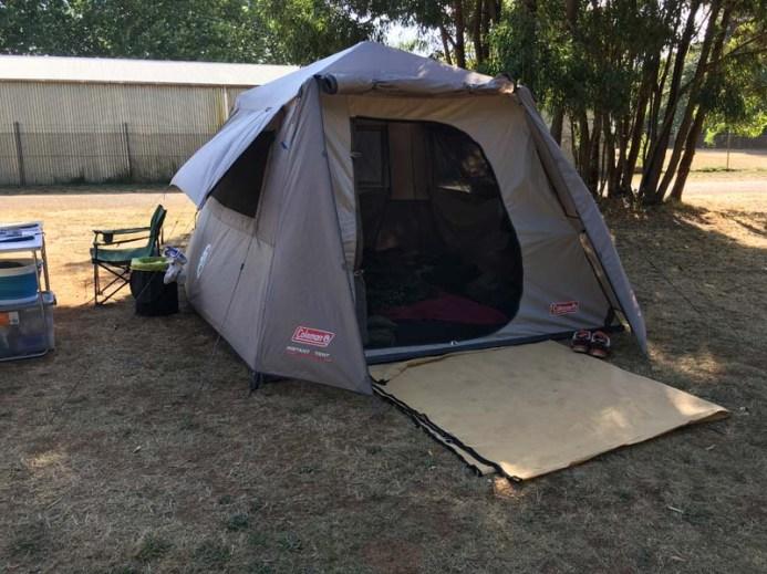 Campsite Victoria Park Dayesford