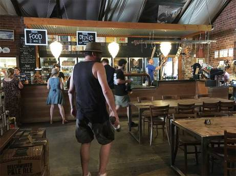 Dave Inside Bridge Road Brewers Beechworth