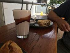 Chocolate Milkshake, Pie and Pastie at Whycheeproof
