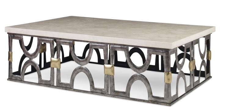 white onyx stone top coffee table