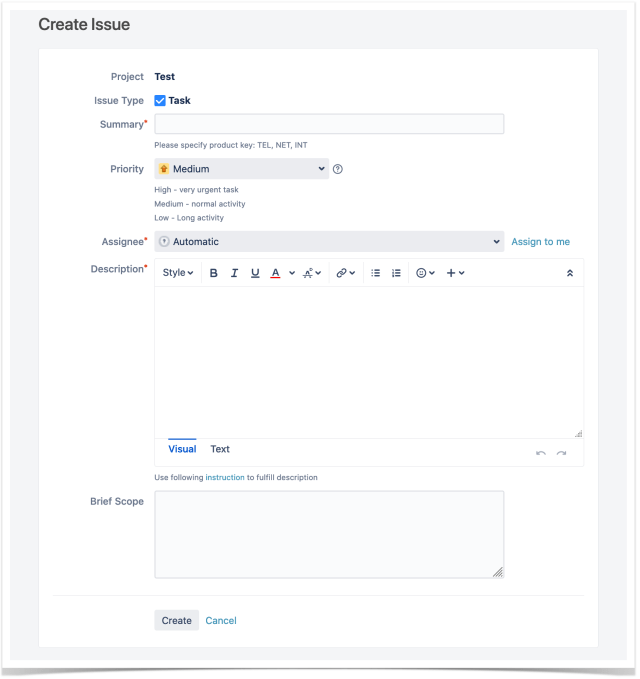 Best Practices for Creating a Jira Issue With Templates  Stiltsoft