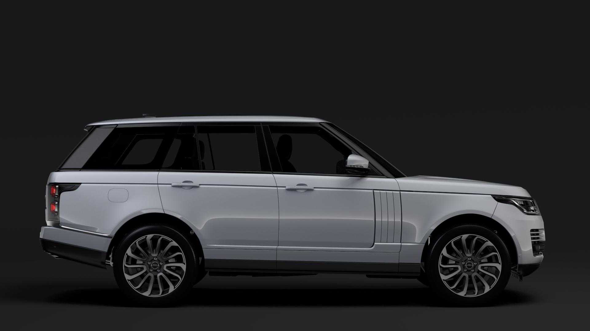 Range Rover Vogue SE L405 2018 3D Model