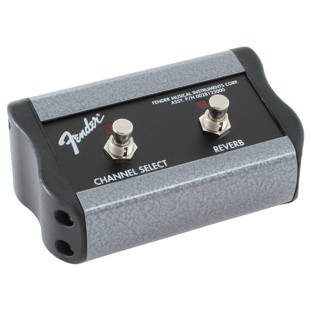 Fender 2 Button Footswitch Channel Reverb At Gear4music