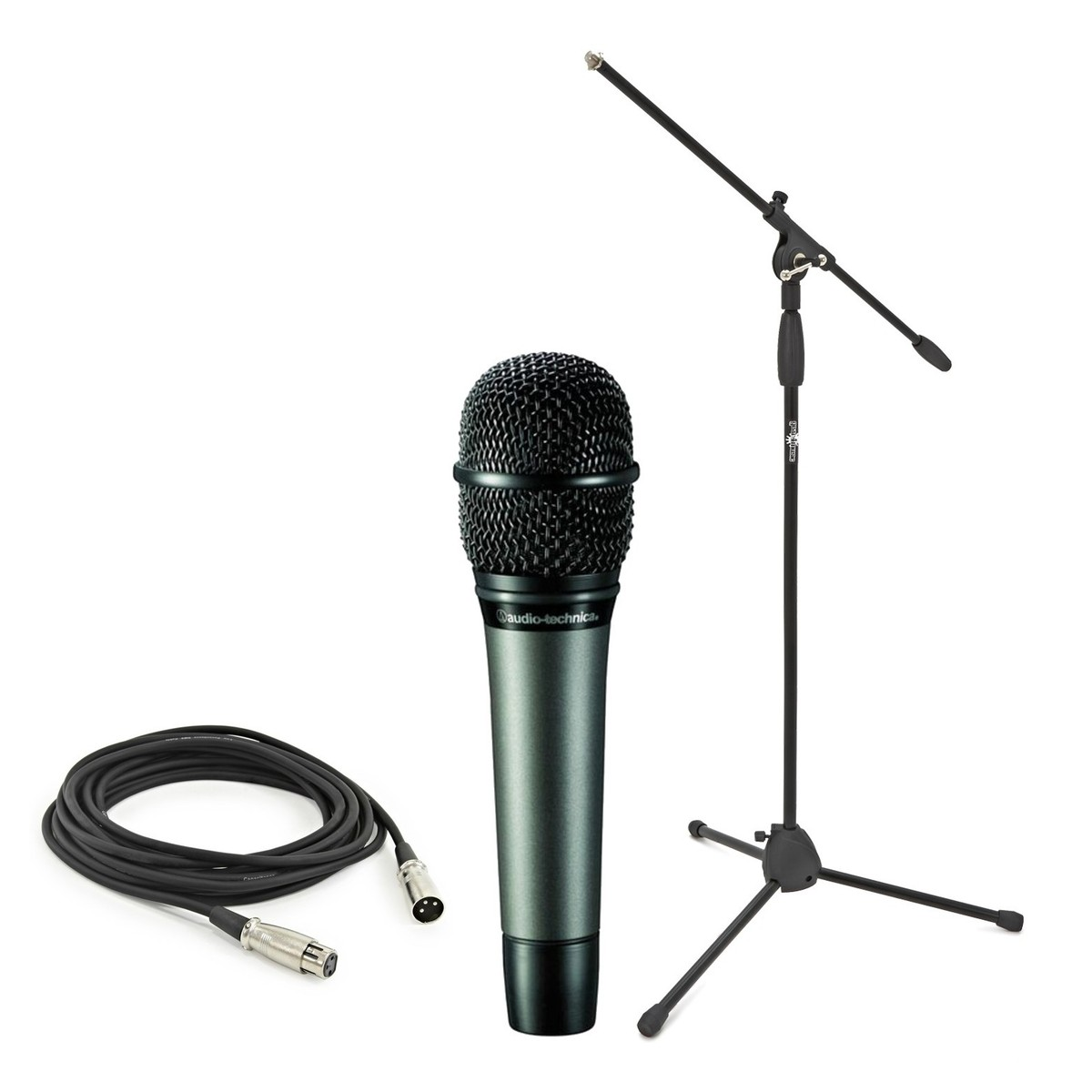Audio Technica Atm610 With Boom Mic Stand And Cable At Gear4music