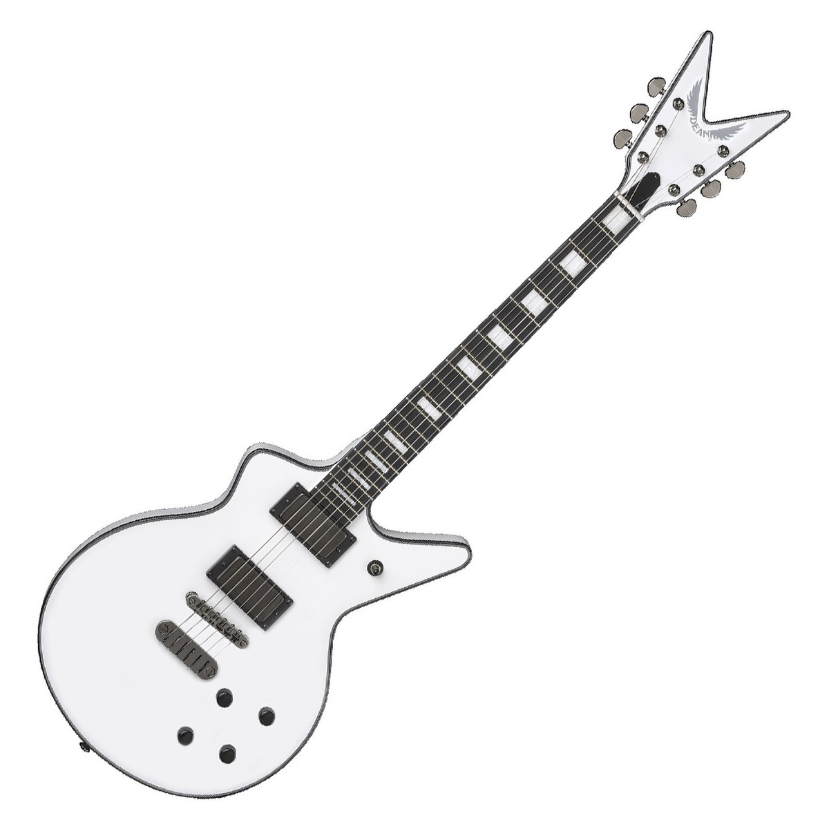 Dean cadillac 1980 electric guitar classic white 1 loading zoom