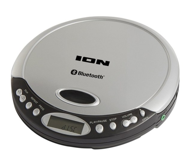 Ion Air Cd Bluetooth Portable Cd Player Main Loading Zoom
