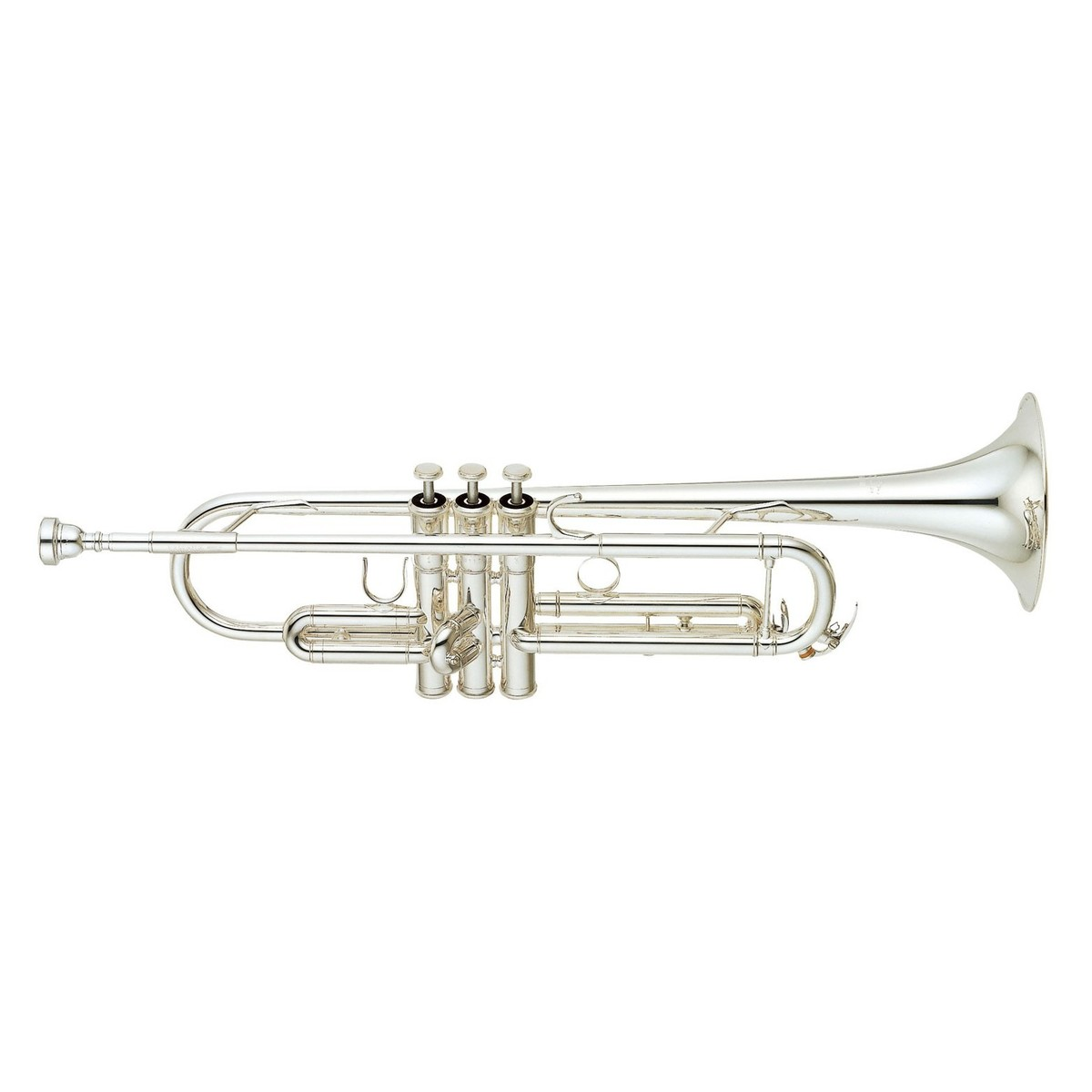 Yamaha Ytr Gs Large Bore Bb Trumpet Silver Plated