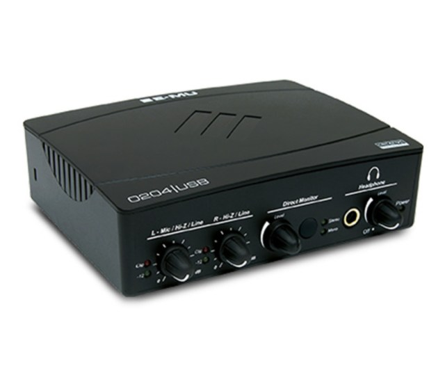 E Mu 0204 Usb Audio Interface Loading Zoom