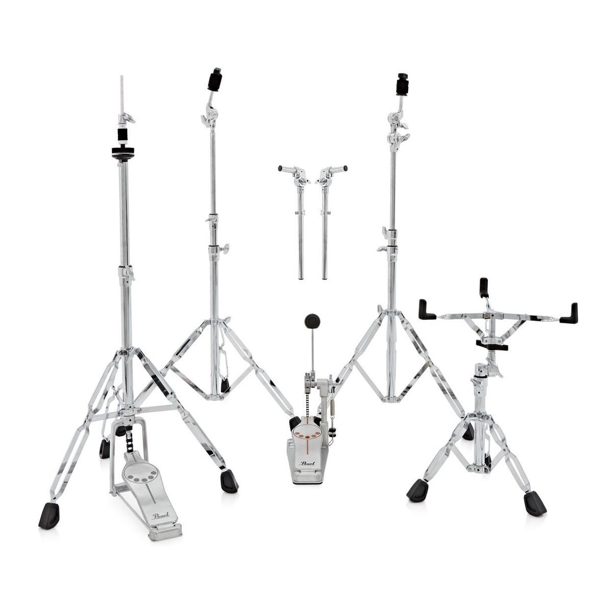Pearl Decade Maple 22 Drum Kit Satin Blackburst W Bag
