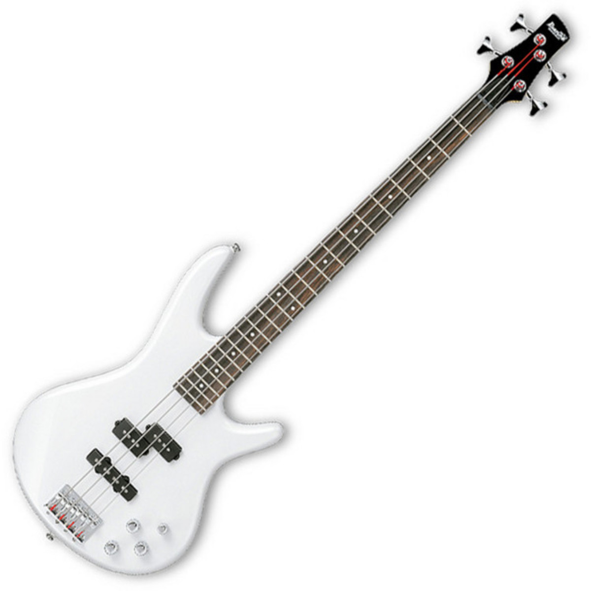 Disc Ibanez Gsr200 Gio Bass Guitar Piano White With Free