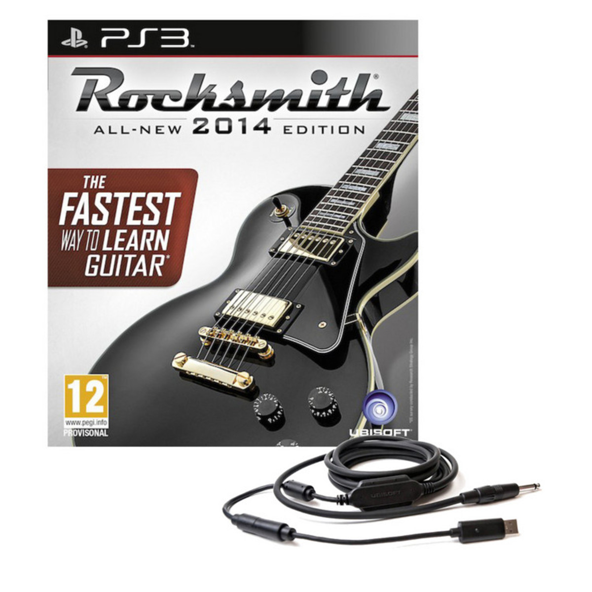 Rocksmith 2014 PS3 With Real Tone Cable At Gear4music