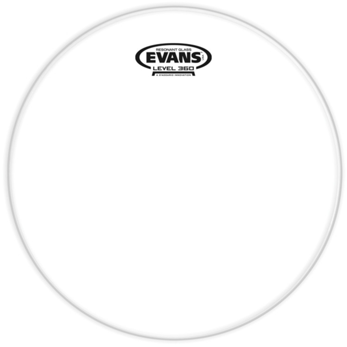 Evans Resonant Glass Drum Head 10 Inch At Gear4music