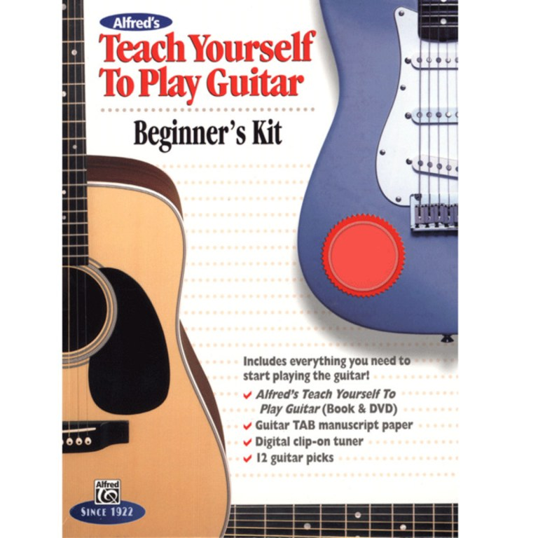 Alfreds Teach Yourself to Play Guitar Beginners Kit at ...