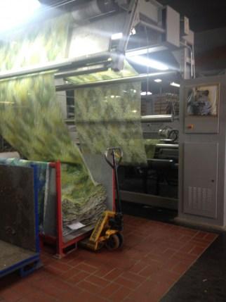 Amazing printing processes/ Unglaubliche Stoffbedruckungprozesse