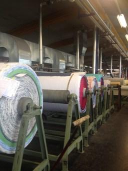 A visit through the factory/ Durch die Fabrik