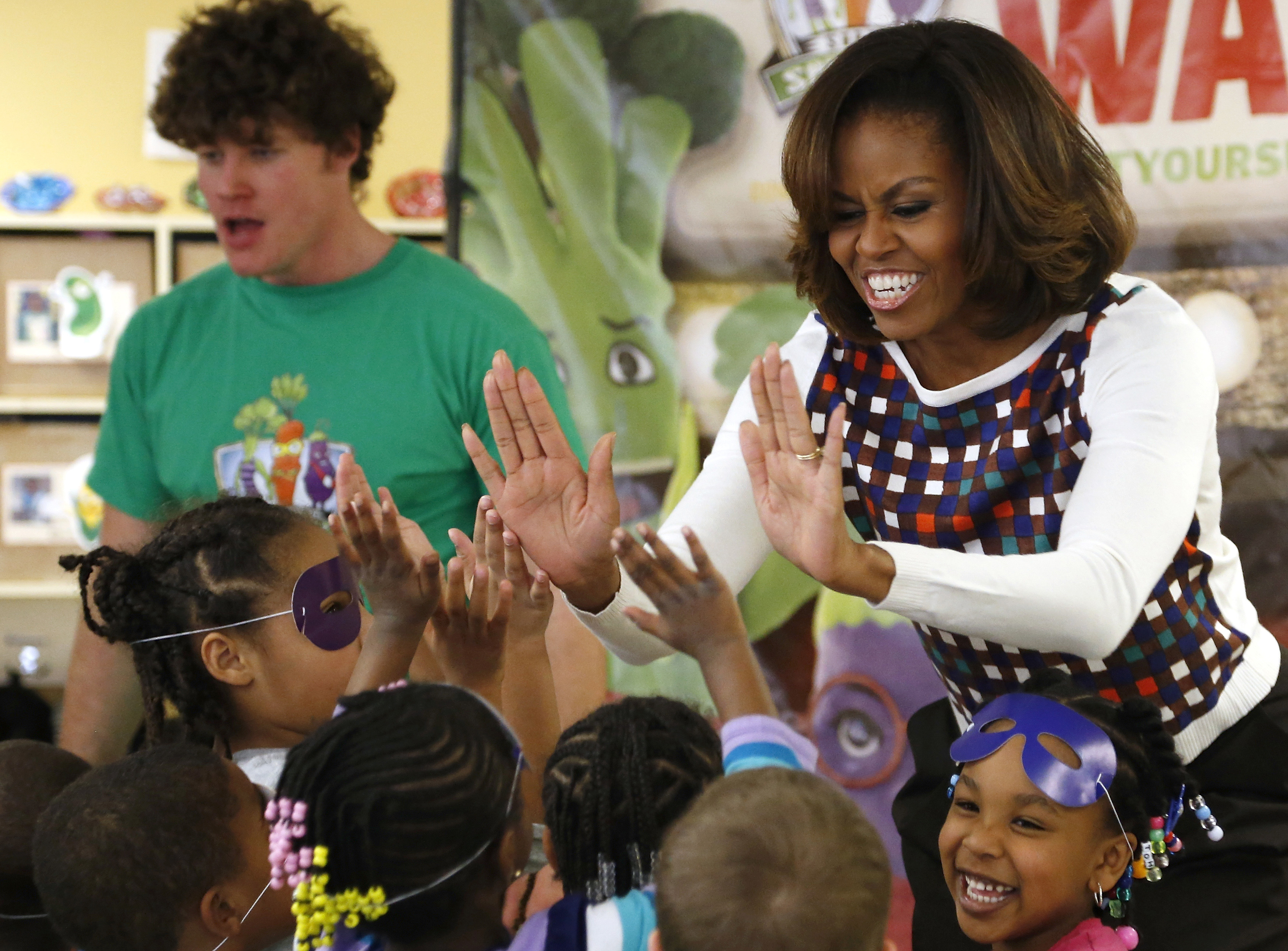 Reminiscing On The First Lady S Visit Grow Fit Draws Applause In D C