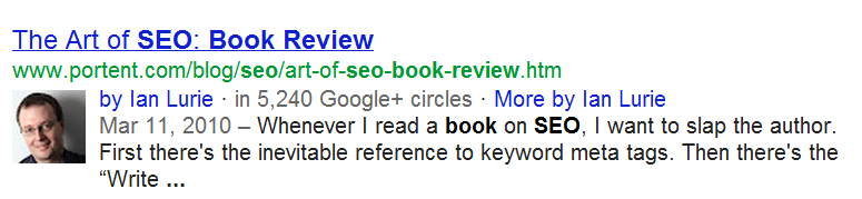 Ian Lurie is a good gentleman into SEO Books