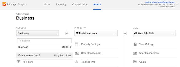 add account google analytics